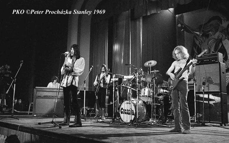 Cressida on stage - Bratislava 1969